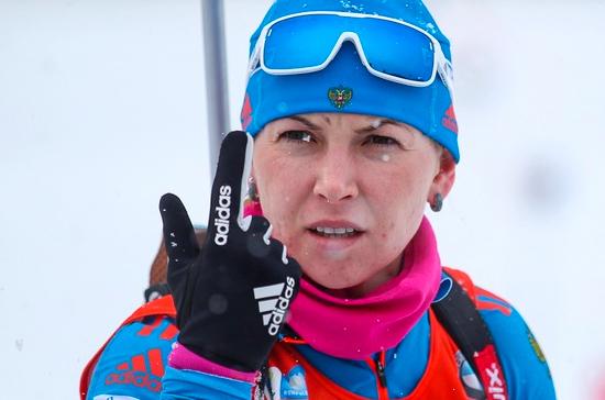 Российская биатлонистка Глазырина подаст жалобу в CAS за двухлетнюю дисквалификацию