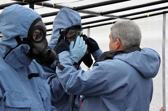 Инспекторы ОЗХО завершили работу в Сирии