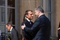 Меркель и Макрон встретятся с Порошенко 10 мая