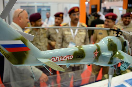 Россия покажет на SOFEX-2018 в Иордании более 100 образцов вооружений