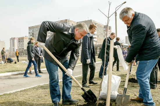 Металлурги Магнитогорска посадят на территории города 1,5 тысячи деревьев