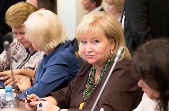 Вторыгина поддерживает кандидатуру Медведева на должность премьера