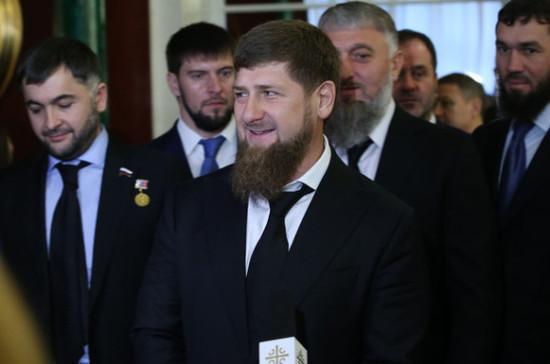 Кадыров поздравил Путина со вступлением в должность президента РФ