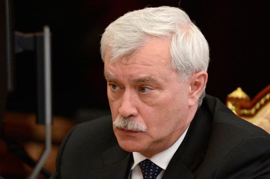 Полтавченко поздравил петербуржцев с Днём Победы