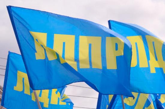 Фракция ЛДПР предложила шесть кандидатов на должности министров