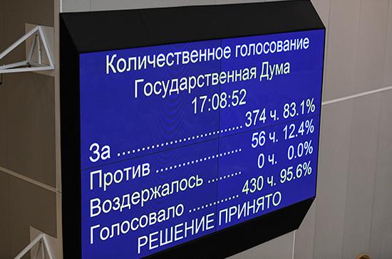 Госдума дала согласие на назначение Медведева председателем Правительства