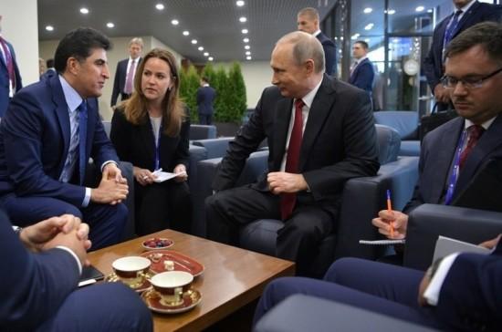 Премьер Иракского Курдистана встретится с Путиным 9 мая