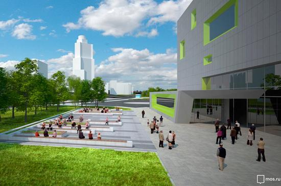 Автовокзал рядом с метро «Ховрино» достроят до конца года