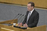 Медведев рассказал, сколько средств пойдёт на реализацию «майского указа» Путина