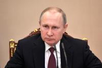Путин поздравил Пашиняна с вступлением в должность премьера Армении