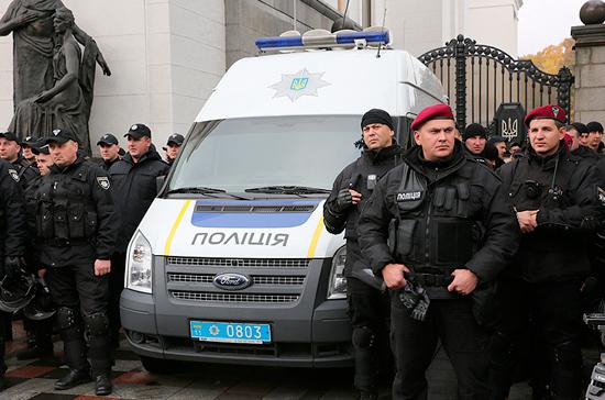 Украинская полиция задержала в Киеве пять человек во время акции «Бессмертный полк»