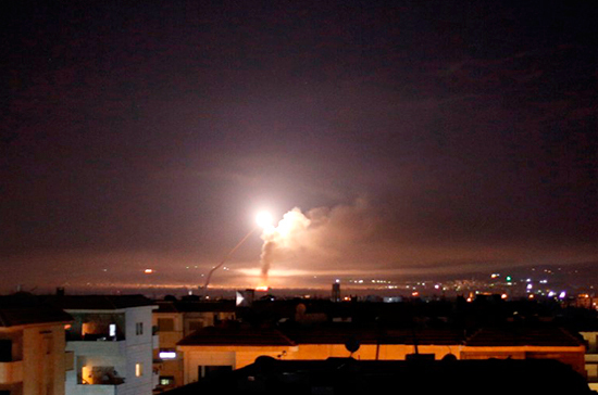 Власти Сирии сообщили о трёх погибших в результате ракетного удара Израиля