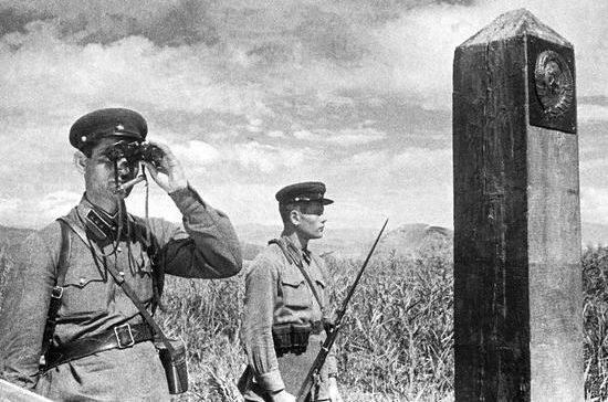 Большевики создали погранслужбу по царским документам