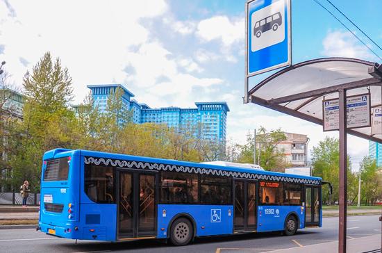 Более 1500 новых автобусов вышли на маршруты в Подмосковье