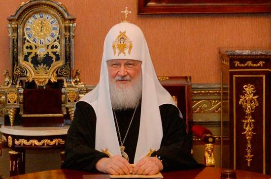 Патриарх освятил храм наЛевашовской пустоши, где расстреливали репрессированных