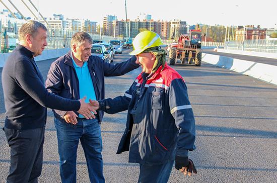 Вице-губернатор Петербурга рассказал, когда запустят движение по мосту Бетанкура