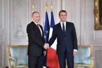 Путин и Макрон встретятся в Петербурге 24 и 25 мая