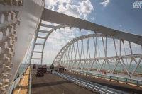 В Керчи по путепроводу к Крымскому мосту запустили рабочее движение