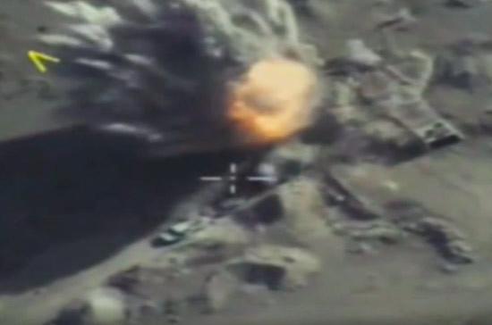 Российские ВКС обстреляли боевиков к югу от Дамаска