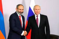 Путин рассказал об итогах встречи с Пашиняном в Сочи