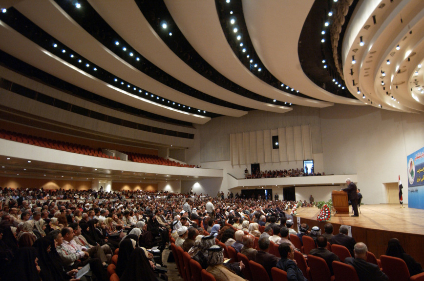 В Ираке правящая коалиция потеряла значительное количество мест в парламенте