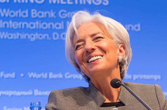 МВФ подтвердил участие Лагард в ПМЭФ