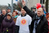 Русский союз Латвии провёл митинг в защиту Линдермана и Гапоненко