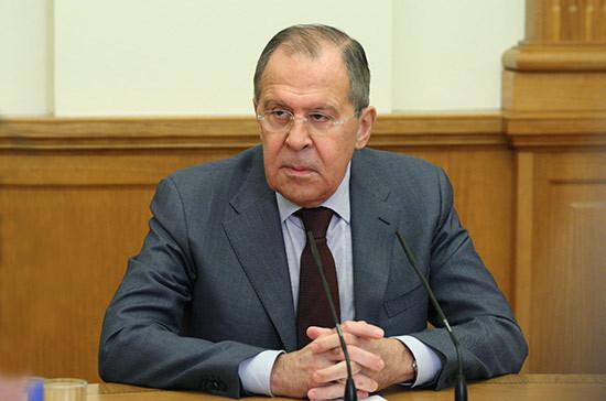 Медведев предложил Путину кандидатуру Лаврова на пост главы МИД