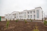 В Астраханской области открыли школу, построенную по просьбе и на средства Туркмении