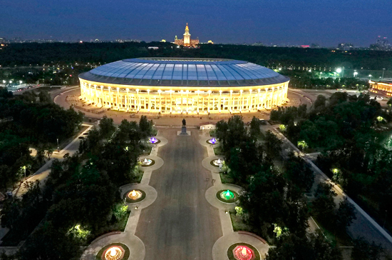 В Москве перед стадионами ЧМ-2018 установят знаки «последней мили»