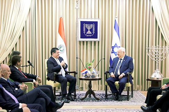 Парагвай перенёс посольство в Иерусалим