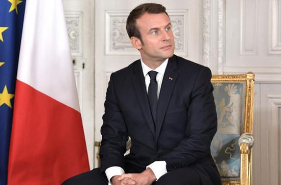 В делегацию Макрона на ПМЭФ войдут около 40 глав французских компаний