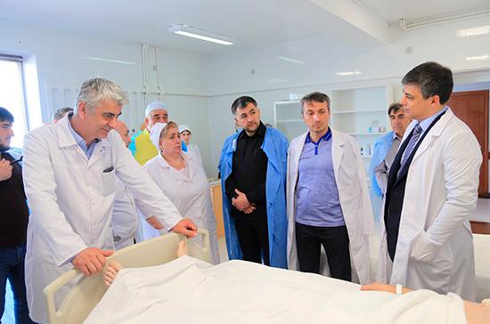 Морозов пригласил коллег из Чечни к совместным научным проектам