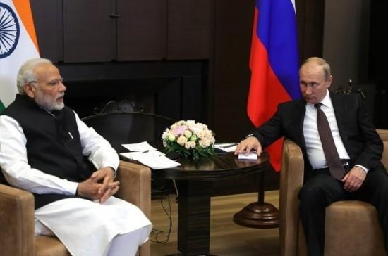 Путин и премьер Индии прибыли в центр «Сириус» в Сочи