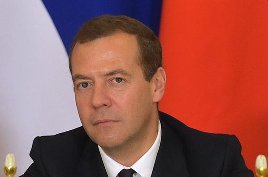 Медведев предложил законодательно закрепить статус многодетных семей