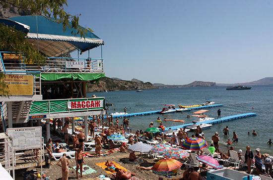 Уровень шума на пляжах Крыма будет контролировать полиция
