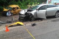 В Ялте по вине пьяного инспектора ДПС в ДТП погибли женщина и годовалый ребёнок