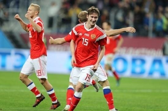 Утвержден девиз сборной Российской Федерации пофутболу наЧМ