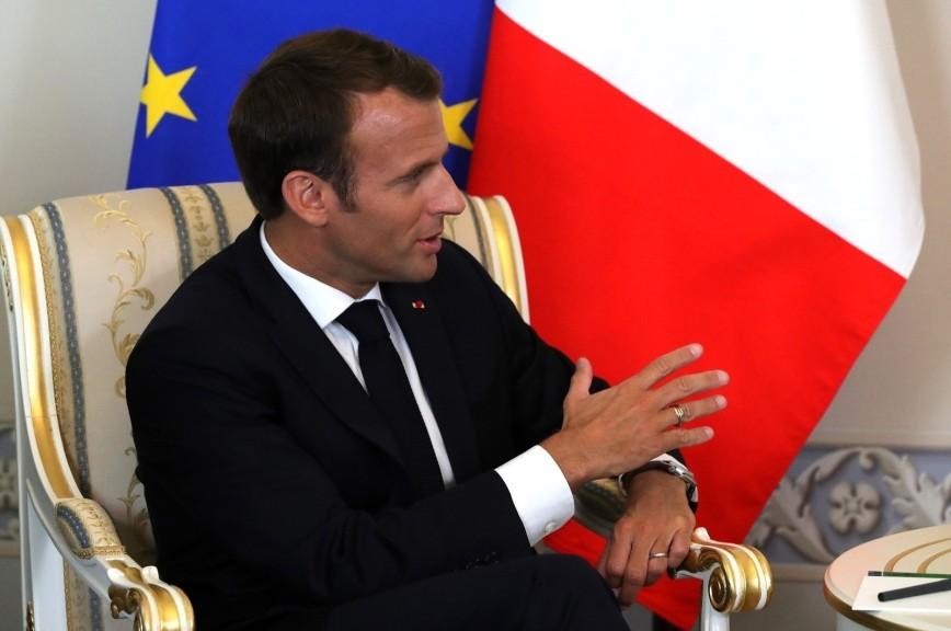 Президент Франции признал за Россией роль сильного лидера