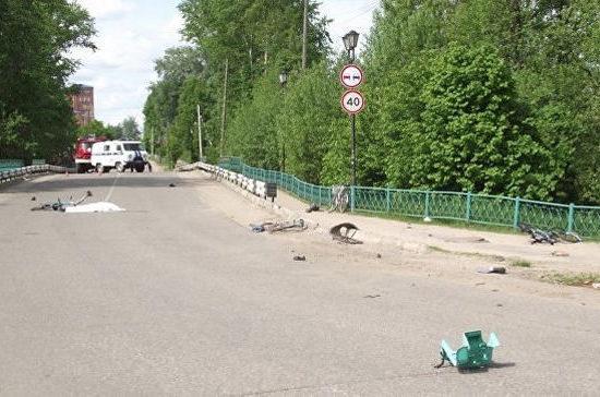 В Ивановской области водитель, сбивший велосипедистов, из которых двое скончались, был пьян