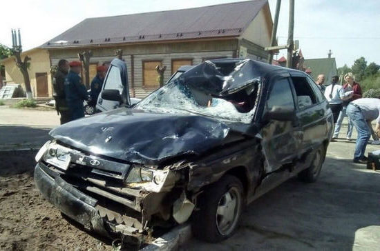 В Ивановской области нетрезвый водитель сбил пятерых велосипедистов