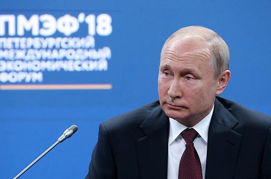 Путин связал санкции с попыткой не допустить развитие оборонных технологий в России