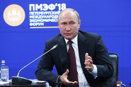 Путин призвал работать с США и другими странами по иранской «ядерной сделке»