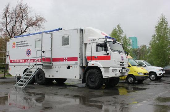 Челябинский центр медицины катастроф получил уникальный КамАЗ для скорой помощи
