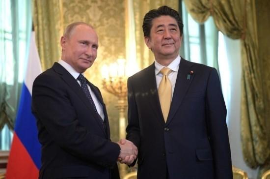 Путин и Абэ из Кремля вышли на связь с экипажем МКС