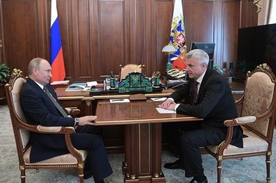 Путин назначил мэра Нижнего Тагила врио губернатора Магаданской области