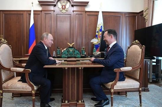 Путин назначил Айсена Николаева врио главы Якутии