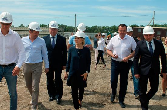 Тимофеева держит под контролем строительство детского сада в Ставрополье