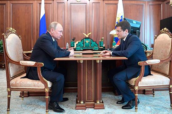Вице-губернатор ЯНАО Дмитрий Артюхов стал врио главы региона