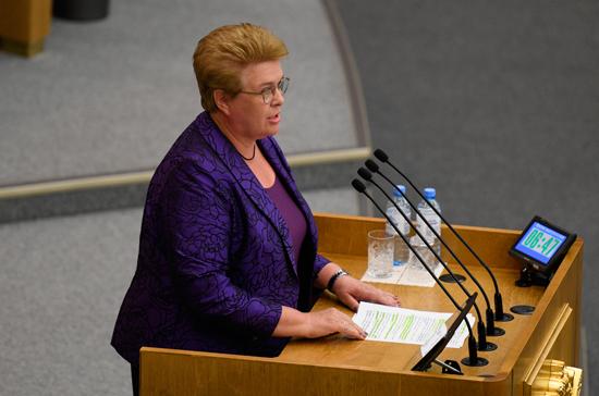 Окунева предложила продлить льготную ипотеку для семей с детьми до 2023 года